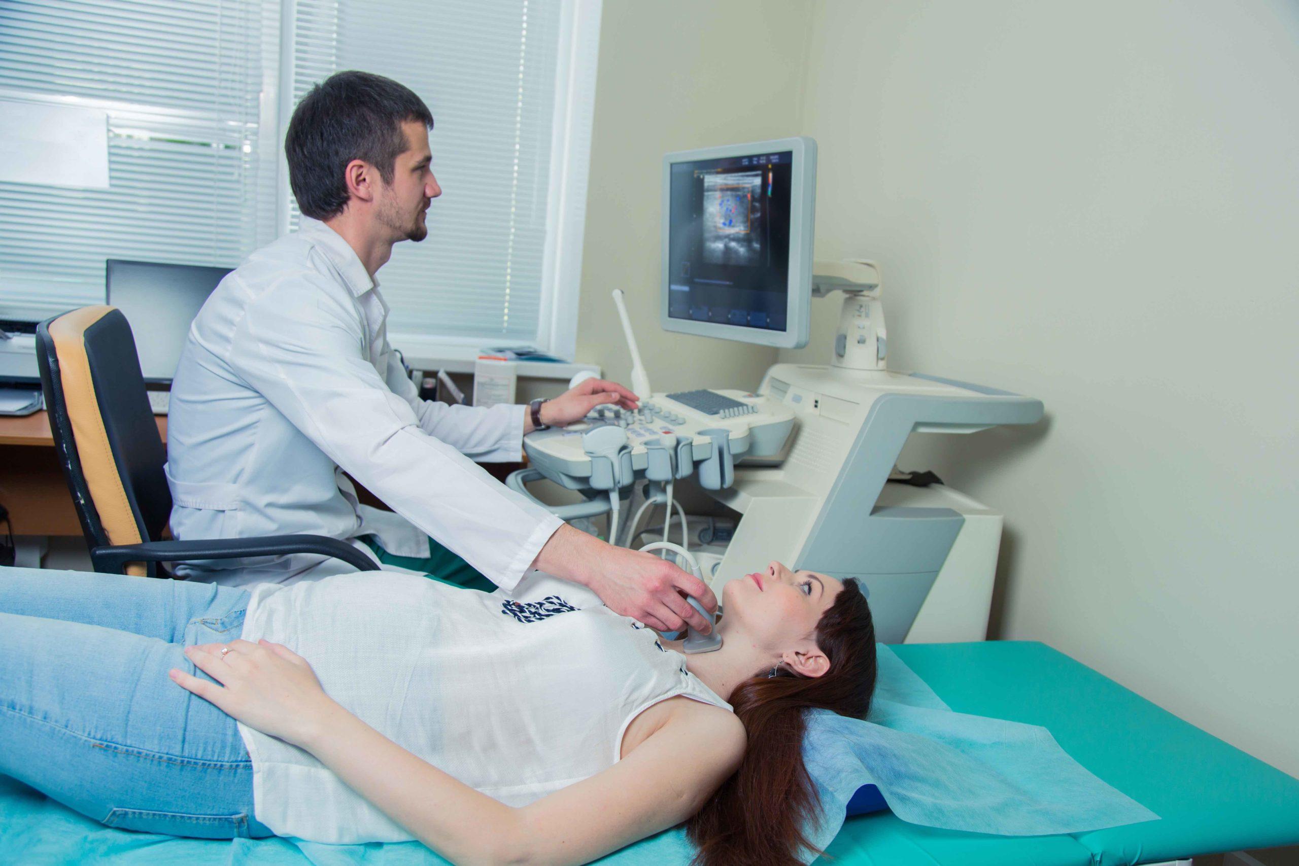 ecografia tiroide cos'è